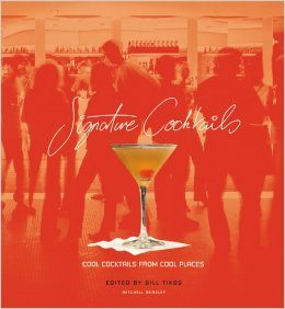 signature cocktail book