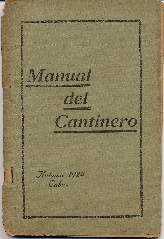 manual de cantineros