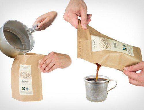 café ensacado