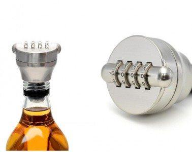 cadeado de garrafa