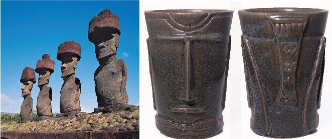 tiki moai