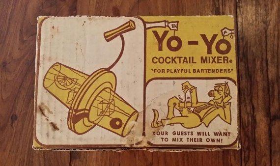 yo-yo cocktail shaker