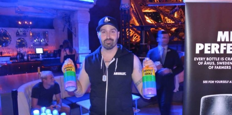 Raul Faria, embaixador de Absolut Vodka nos Estados Unidos
