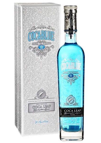 coca blue