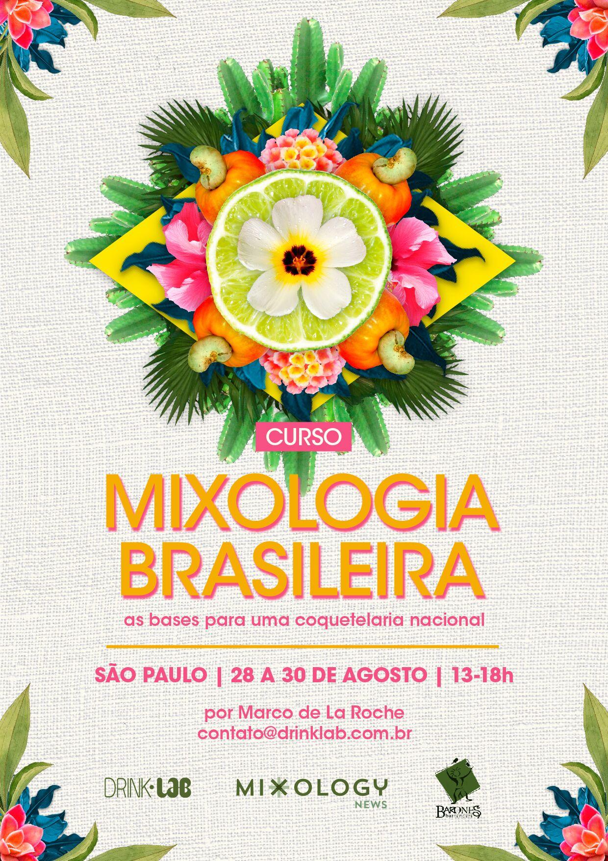 Mixologia Brasileira Agosto