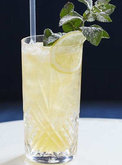 elderflorwer gin fizz